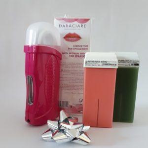 Home wax heater kit fuxia