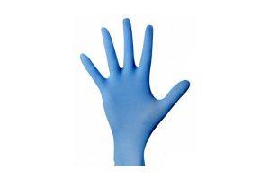 Rubber gloves Nitrile blue powder free 100pcs