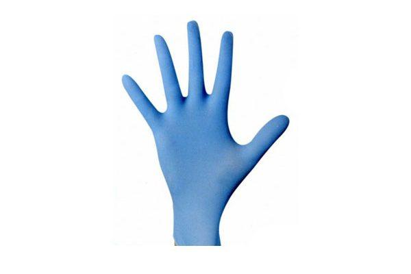 Nitrile blue powder free 100pcs
