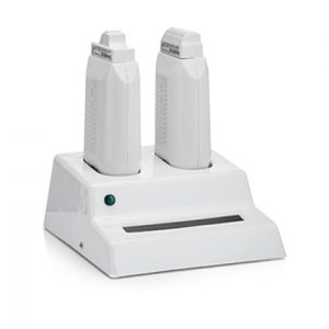 Professional double roll-on wax heater