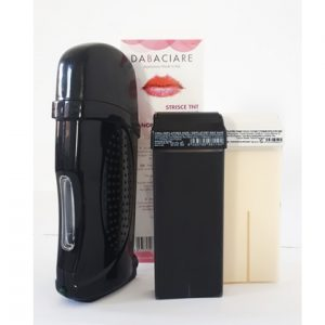 Home wax heater kit black