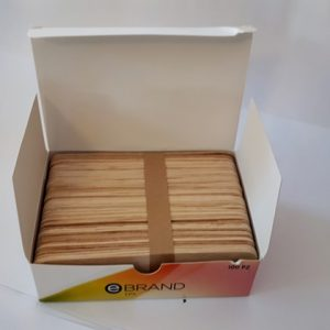 Wooden spatula package 100 pieces