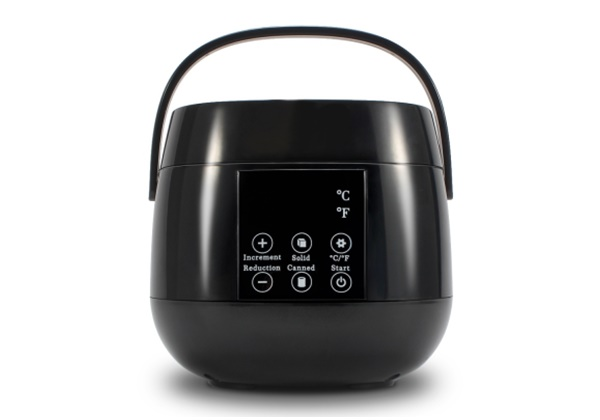 Digital cup wax heater machine