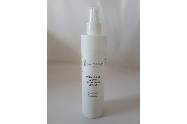 Gyantázás előtti Bőrfertőtlenítő ápoló spray 250 ml