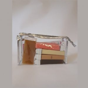 Wax catridges with beauty case