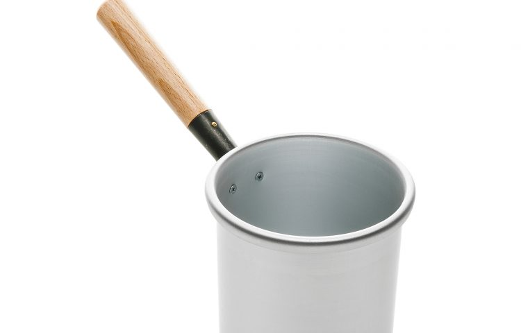 Aluminium wax pot